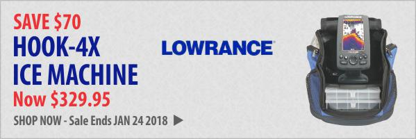 LOWRANCE-HOOK-4X-ICE-MACHINE-FISHFINDER