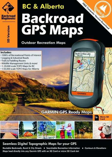GPS MAP-BC AND AB COMBO D46