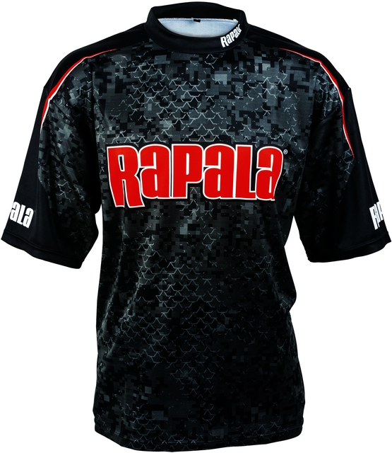 Rapala Pro Team Short Sleeve Jersey Spf50 Fishing