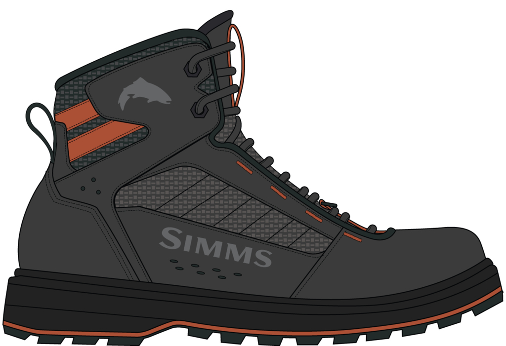 TRIBUTARY-BOOT-CARBON   Wading-Boots