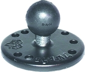 3831639|1INCH  MOUNT BALL 2.5INCH  RND PLATE