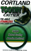 3855971|TOOTHY CRITTER 20LB - 10FT GRN