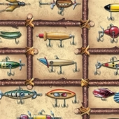 3879379|LURES WRAPPING PAPER