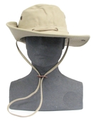3883171|BOSUN HAT CANVAS-TAN-LRG