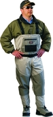 9250040|DELUXE BR/STKFT CHEST WADERS