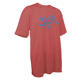 9402410 SS COTTON TEE - CORAL